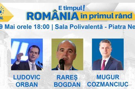 Desant liberal la Piatra-Neamț! Lansarea candidaților la europarlamentare!
