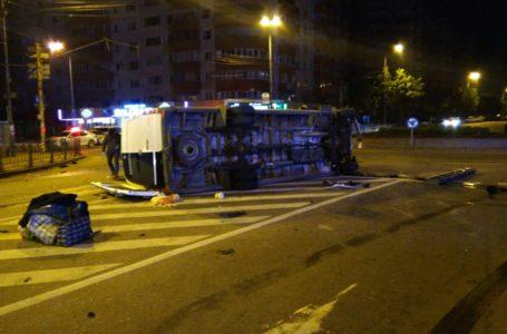 Imagini de la accidentul cu 16 răniți din Neamț, produs la Bacău