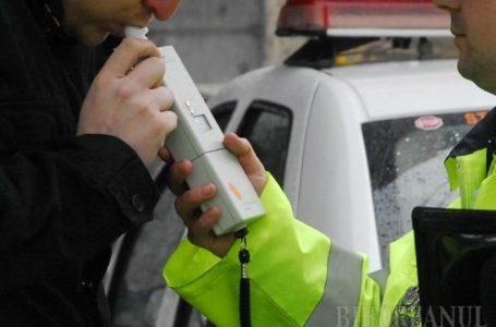 Șofer cu alcoolemie record prins la Săvinești