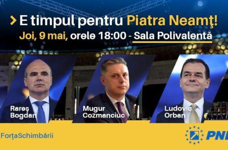 Mugur Cozmanciuc, președintele PNL Neamț: E timpul ca Neamțul să fie în primul rând!