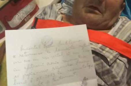 Bătrân de 80 ani, cu sondă și acuzând dureri, dat afară din Urgența Spitalului Județean Neamț și rechemat luni!