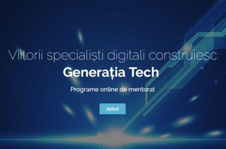150 de tineri din Piatra-Neamț, specializați gratuit în programul digital Generația Tech