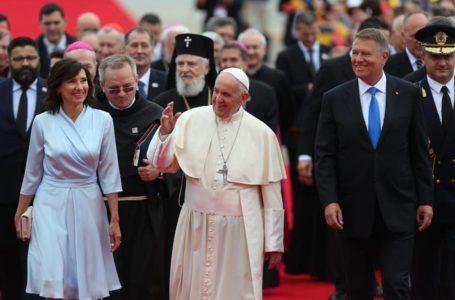 Primarul Dragoș Chitic, la întâlnirea de la Cotroceni cu Papa Francisc