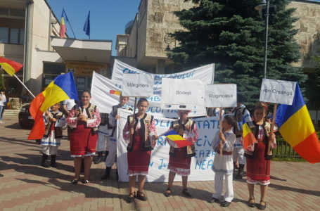 Protest la Piatra-Neamț pentru păstrarea Cheilor Bicazului (foto-galerie)