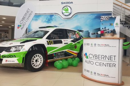 Skoda Fabia R5 pentru raliuri, în valoare de 280.000 euro, expusă la Cybernet Auto Center Piatra-Neamț (galerie foto)