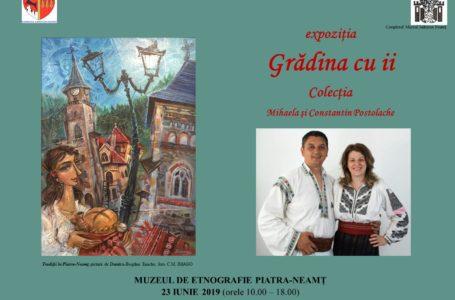 Grădina cu ii la Muzeul de Etnografie Piatra-Neamț. Intrarea este gratuită