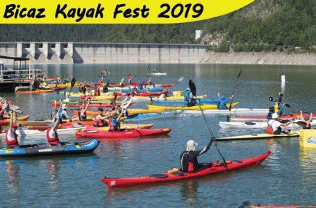 """Sâmbătă și duminică, """"Bicaz Kayac Fest"""" pe Lacul Izvorul Muntelui"""