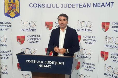 Drumul de la Bisericani, inaugurat cu mare cu tam-tam de președintele CJ Neamț, a început să se crape (video)