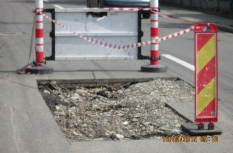 Poliția Locală Piatra-Neamț, cu ochii pe cei care sparg străzile și uită să le mai repare