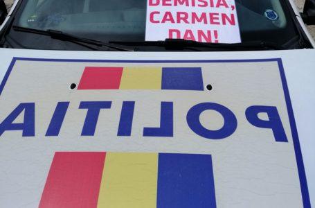 """Polițiștii nemțeni ies în stradă! """"Ne-am săturat să fim bătaia de joc a unui sistem corupt, ticălos, ucigaș de polițiști!"""""""