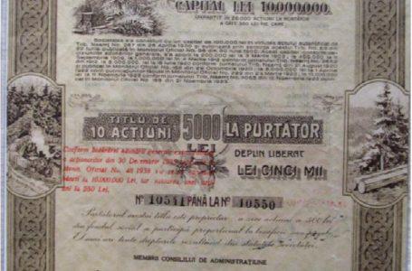 Expoziţie dedicată acţiunilor şi obligaţiunilor la Muzeul de Istorie şi Arheologie Piatra-Neamţ