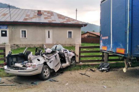 Polițiștii au stabilit cauza accidentului cu 4 morți din comuna Ceahlău