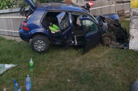 Doi copii și doi adulți au fost răniți la Zănești