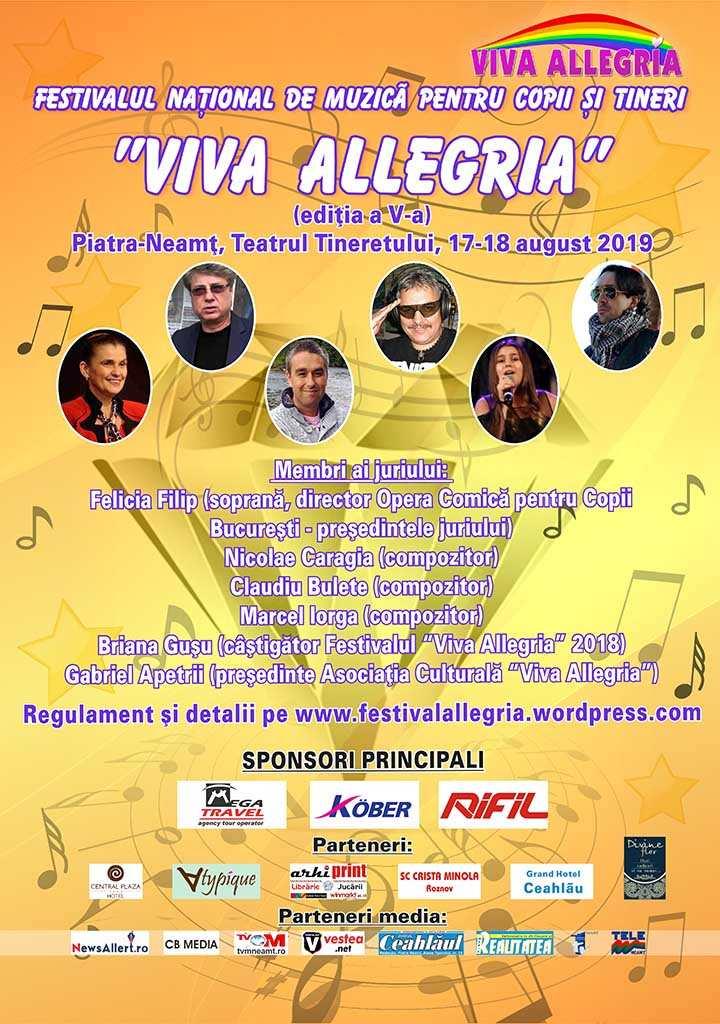 Festival viva allegria august 2019