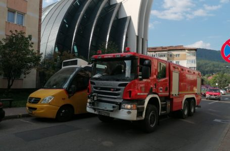 Accident feroviar la Pângărati, în simularea unui exercițiu al ISU Neamț