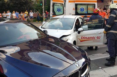 Accident cu 3 victime pe strada Lămâiței din Piatra-Neamț!
