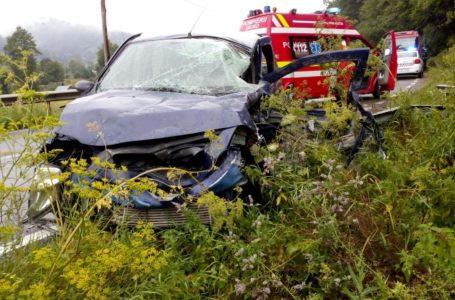 Două victime în urma unui accident rutier pe DN 15 la Grințieș
