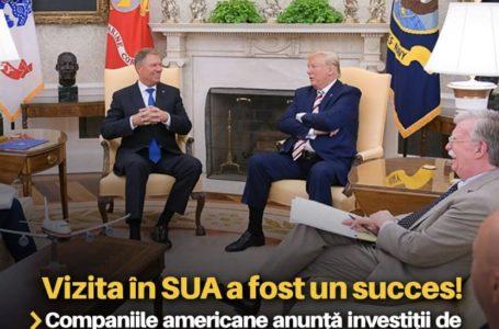 Mugur Cozmanciuc: Companiile americane anunță investiții de 10 miliarde de dolari în România, după vizita președintelui Klaus Iohannis