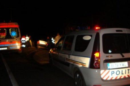 Trei răniți grav la Caciulești după ce un TIR s-a lovit de un autoturism