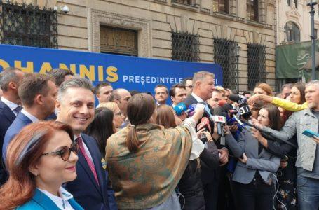 Mugur Cozmanciuc, prezent la depunerea candidaturii președintelui Klaus Iohannis