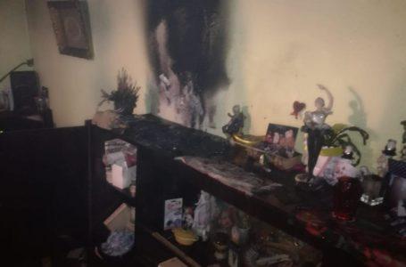Incendiu într-un apartament al unui bloc din Piatra-Neamț (foto)