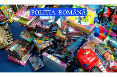 Aproape 200 de jucării contrafăcute, confiscate de la un magazin din Piatra-Neamț