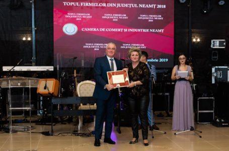 PENIBIL Troleibuzul și DRUPO – societăți cu subvenții de la CJ Neamț – premiate la Topul Firmelor