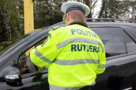 Tânăr drogat, prins de polițiști la volan în Piatra-Neamț