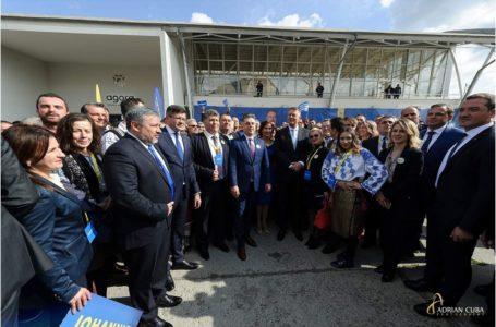 """Mugur Cozmanciuc – """"pâinea și sarea"""" președintelui Klaus Iohannis la regionala filialelor PNL"""