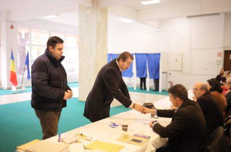 Ionel Arsene și Răzvan Cuc au votat împreună