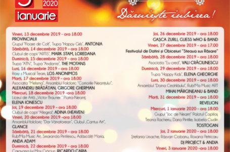 Marți, 17 decembrie, la Târgul de Crăciun la Neamț
