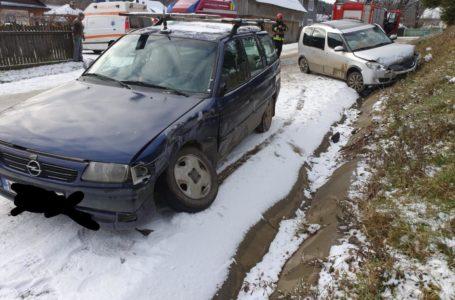 Accident cu 2 victime la Crăcăoani