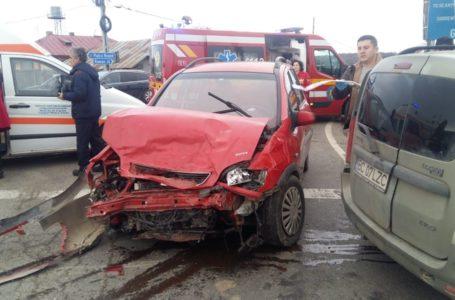 """Un nou accident în """"intersecția morții"""" de la Girov (foto)"""