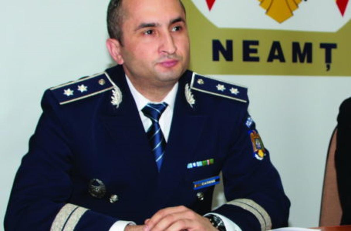 Poliția Neamț are un nou inspector șef