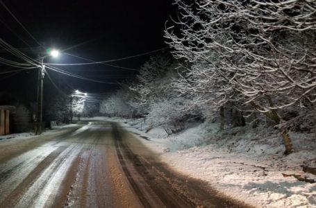 Cum se circulă pe drumurile naționale din Moldova după primul val de ninsori
