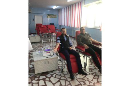 """Polițiștii secției Borlești au """"vărsat"""" sânge"""