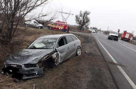 Grav accident pe E85, în județul Neamț