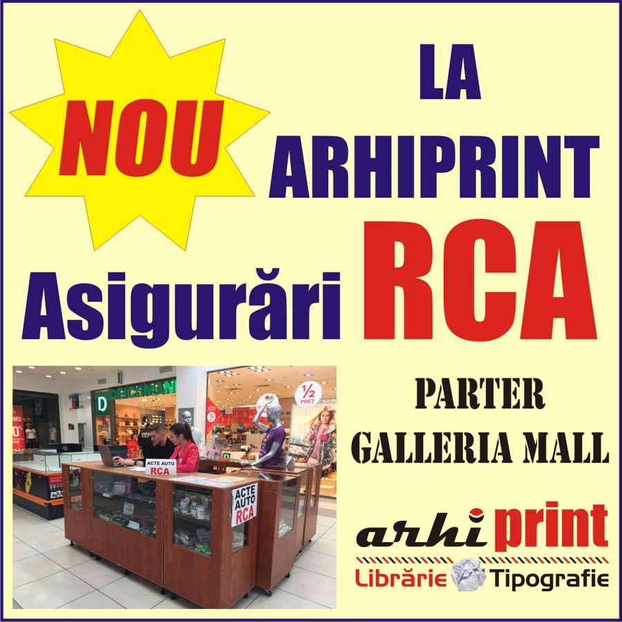 Arhiprint asigurari RCA
