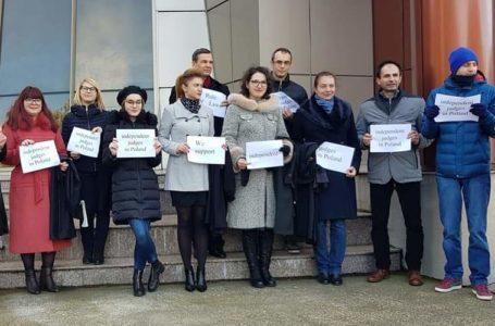 Judecătorii Tribunalului Neamț și Judecătoriei Piatra-Neamț, solidari cu judecătorii polonezi