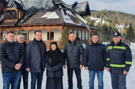 Prefectul George Lazăr cere sprijin guvernamental pentru mănăstirea de la Petru Vodă