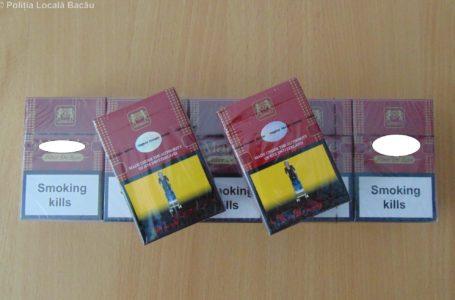 """Captură de """"proporții"""" a polițiștilor nemțeni: 6 pachete de țigarete de contrabandă…"""