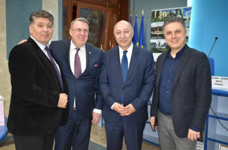 Deputatul Mugur Cozmanciuc pune umărul la dezvoltarea relațiilor economice dintre județul Neamț și Georgia