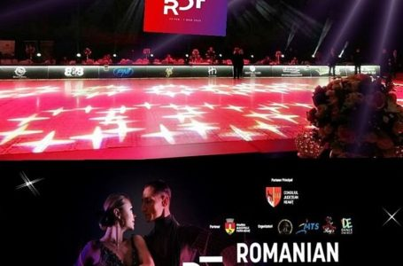 Piatra-Neamț este în acest week-end Capitala Dansului Sportiv