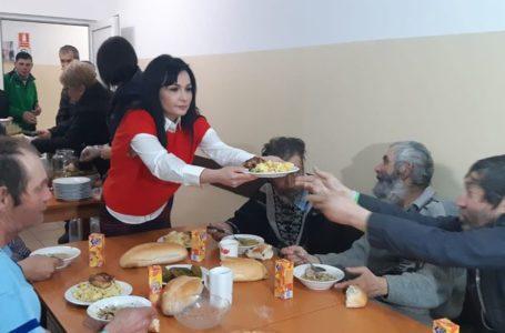 Florentina Moise, gest caritabil pentru sărmanii orașului