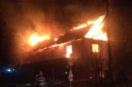 Incendiu devastator la Târgu Neamț