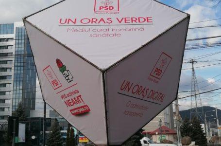 PSD Piatra-Neamț a ieșit în stradă (foto-galerie)