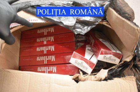 Percheziții în 5 apartamente din Piatra-Neamț, la contrabandiști de țigări