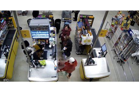 Femeie suspectă de furtul unui portofel în Carrefour Piatra-Neamț (foto)