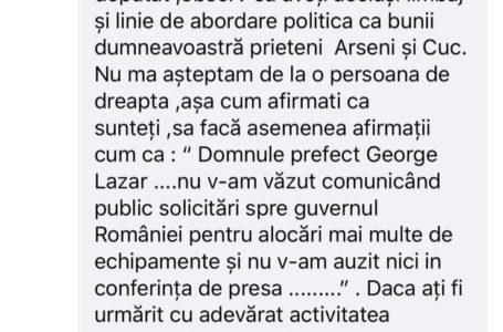 """""""Democrația"""" USR Neamț! Deputatul Iulian Bulai, cenzurează comentariile defavorabile!"""
