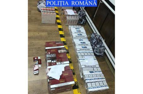 Descinderi în Piatra-Neamț! Peste 57.000 țigări de contrabandă găsite în boxa unui bloc!